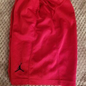Jordan Other - Boys red Air Jordan sports shorts